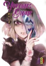 Heroines game T3, manga chez Kana de Tabasa