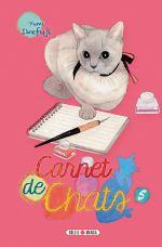 Carnet de chats T5, manga chez Soleil de Ikefuji