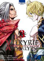 Valkyrie apocalypse T3, manga chez Ki-oon de Umemura, Ajichika
