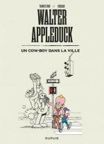 Walter Appleduck T2 : Un cow-boy dans la ville (0), bd chez Dupuis de Fabcaro, Erre, Greff