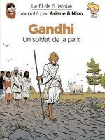 Le Fil de l'Histoire T16 : Gandhi (0), bd chez Dupuis de Erre, Savoia