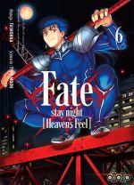 Fate stay night [Heaven's feel] T6, manga chez Ototo de Type-moon, Taskohna