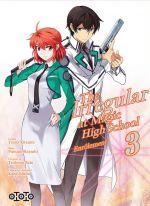 The irregular at magic high school T3, manga chez Ototo de Sato, Hayashi, Kitaumi