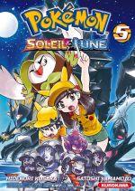 Pokémon Soleil et Lune T5, manga chez Kurokawa de Kusaka, Yamamoto