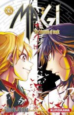 Magi, the labyrinth of magic  T35, manga chez Kurokawa de Ohtaka