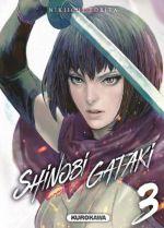 Shinobi gataki T3, manga chez Kurokawa de Tobita