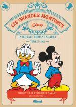 Grandes aventures de Romano Scarpa T7 : 1962 - Le Perroquet savant et autres histoires (0), bd chez Glénat de Scarpa