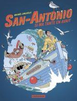 San-Antonio T2 : Si ma tante en avait (0), bd chez Casterman de Sanlaville