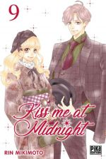Kiss me at midnight T9, manga chez Pika de Mikimoto