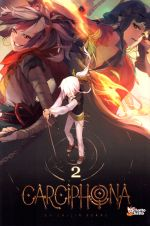 Carciphona T2, manga chez Chatto chatto de Huang