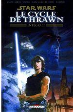 Le cycle de Thrawn, comics chez Delcourt de Baron, Shanower, Blanchard, Nowlan, Dodson, Biukovic, Vatine, Brown, Rambo, Rabarot