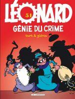 Léonard T51 : Génie du crime (0), bd chez Le Lombard de Zidrou, Turk