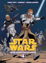 Star Wars Nouvelles Aventures T4, comics chez Delcourt de Scott, Mauricet, Kirchoff