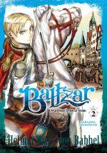 Baltzar T2, manga chez Meian de Nakajima