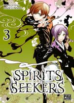Spirit seekers T3, manga chez Pika de Onigunsô