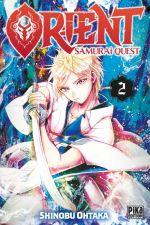 Orient - Samurai quest T2, manga chez Pika de Ohtaka