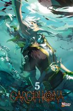 Carciphona T5, manga chez Chatto chatto de Huang