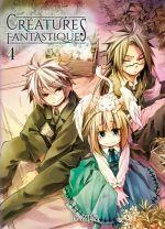 Créatures fantastiques T4, manga chez Komikku éditions de Kaziya