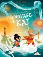 La Famille Vieillepierre T3 : Le voyage de Kaï (0), bd chez Sarbacane de Todd