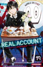 Real account T19, manga chez Kurokawa de Okushou, Shizumukun
