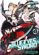 Blue eyes sword - Hinowa ga crush ! T4, manga chez Kurokawa de Takahiro