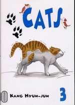 Cats T3, manga chez Milan de Hyun-Jun
