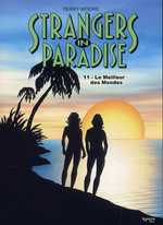 Strangers in paradise – cycle , T11 : le meilleur des mondes (0), comics chez Kyméra de Moore