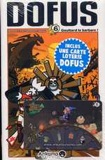 Dofus T6 : Goultard le barbare !, manga chez Ankama de Tot, Brunowaro, Ancestral z, Mojojojo