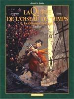 La quête de l'oiseau du temps – cycle 2 : Avant la quête, T6 : Le grimoire des dieux (0), bd chez Dargaud de Loisel, Le Tendre, Aouamri, Lapierre