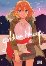 Golden sheep T1, manga chez Delcourt Tonkam de Ozaki