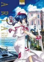 Aria the masterpiece T3, manga chez Ki-oon de Amano