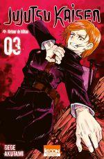 Jujutsu Kaisen T3, manga chez Ki-oon de Akutami
