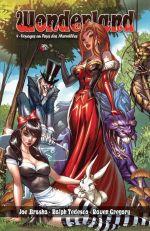 Wonderland T4 : Voyages au Pays des Merveilles (0), comics chez Graph Zeppelin de Gregory, Leister, Bonk, Rio, Ruffino, Mason