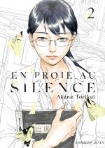 En proie au silence T2, manga chez Akata de Torikai