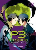 Persona 3 T8, manga chez Mana Books de Sogabe, Atlus