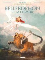Bellérophon et la chimère, bd chez Glénat de Bruneau, Mantovani, Ruby, Vignaux
