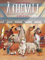 A cheval ! T7 : Les rênes du salon (0), bd chez Delcourt de Dufreney, Prickly, Paillat