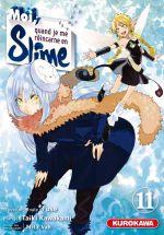 Moi, quand je me réincarne en slime T11, manga chez Kurokawa de Fuse, Kawakami