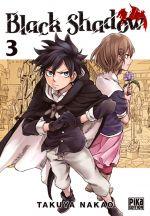 Black shadow T3, manga chez Pika de Nakao