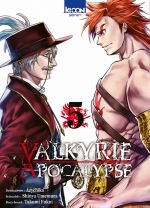Valkyrie apocalypse T5, manga chez Ki-oon de Umemura
