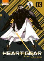 Heart gear T3, manga chez Ki-oon de Takaki