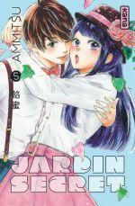 Jardin secret T5, manga chez Kana de Ammitsu
