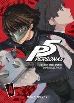 Persona 5 T4, manga chez Mana Books de Atlus, Murasaki
