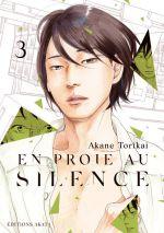 En proie au silence T3, manga chez Akata de Torikai