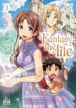 A fantasy lazy life  T5, manga chez Delcourt Tonkam de Watanabe, Ayakura, Hinotsuki
