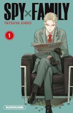 Spy X family T1, manga chez Kurokawa de Endo
