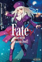 Fate stay night [Heaven's feel] T7, manga chez Ototo de Type-moon, Taskohna
