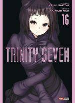 Trinity seven T16, manga chez Panini Comics de Nao, Saitô