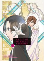 Vatican miracle examiner T5, manga chez Komikku éditions de Fujiki, Hino