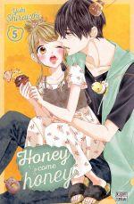 Honey come honey T5, manga chez Delcourt Tonkam de Shiraishi